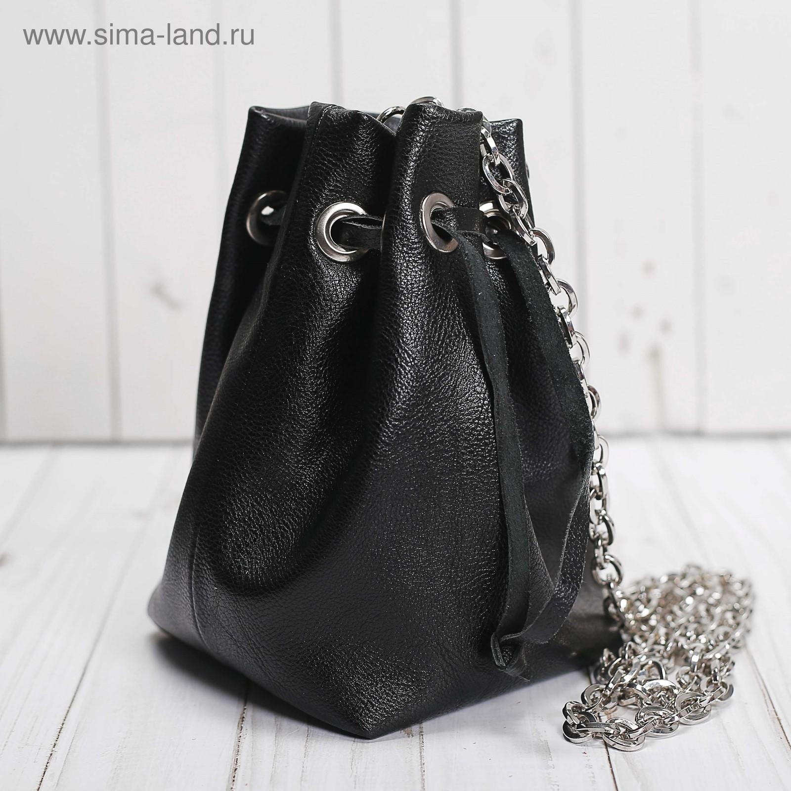 e865d8cbec1c Сумка-торба женская, 1 отдел, цепочка, цвет чёрный (2861996 ...