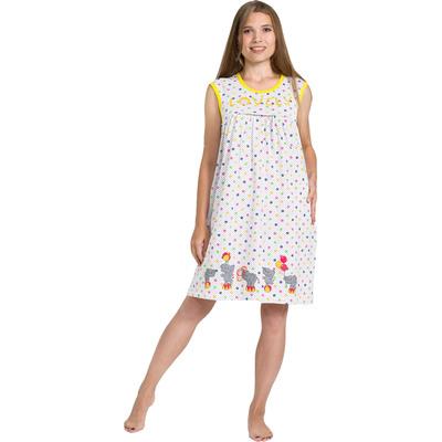 Сорочка женская 118 цвет МИКС, р-р 48