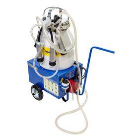 Доильный агрегат АДЭ-01ТЦР, 20 л, одновременное доение 2-х голов, цельная резина