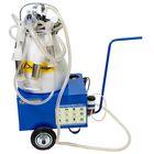 Доильный агрегат АДЭ-02, 20 л, последовательно выдаивает 3-5 голов, разборная резина