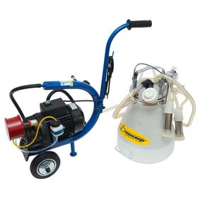 Доильный агрегат АДЭ-03, 20 л, одновременное доение 2-х голов, разборная резина