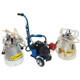 Доильный агрегат АДЭ-03Т, 20 л, одновременное доение 2-х голов, разборная резина