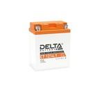 Аккумуляторная батарея Delta СТ1214.1 (YB14-BS, YTX14AH, YTX14AH-BS)12V, 14 Ач прямая(+ -)