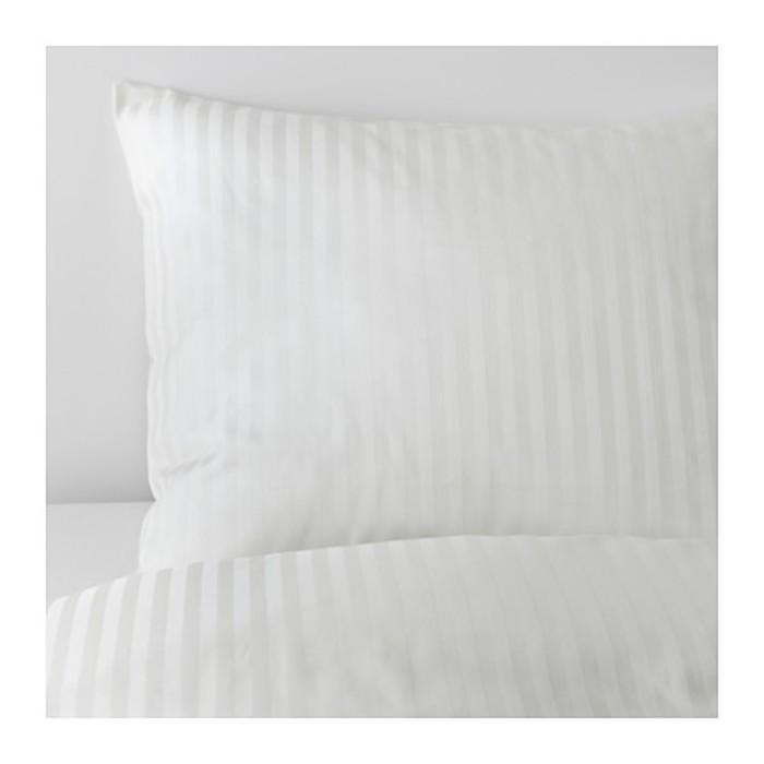 КПБ НАТТЭСМИН, размер 200х200 см, 50х70 см-2 шт., цвет белый