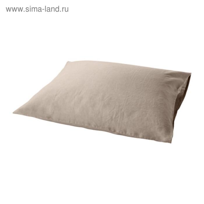 Наволочка ПУДЕРВИВА, размер 50х70 см, цвет неокрашенный