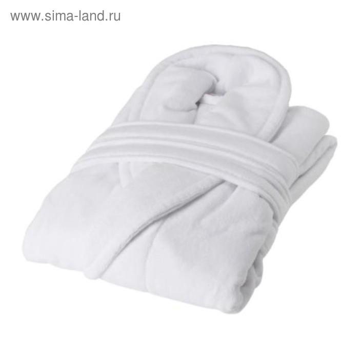 Халат купальный НЬЮТА, размер L/XL, цвет белый