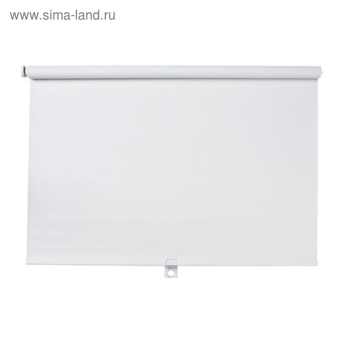 Штора рулонная ТУППЛЮР, размер 160х195 см, цвет белый