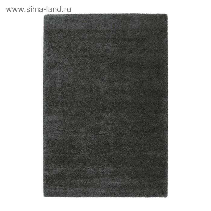 Ковёр ОДУМ, размер 133х195 см, цвет тёмно-серый