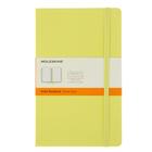 Блокнот 130х210 мм, 120 листов Moleskine Classic Large, твердая обложка, тонированный блок в линейку, жёлтый