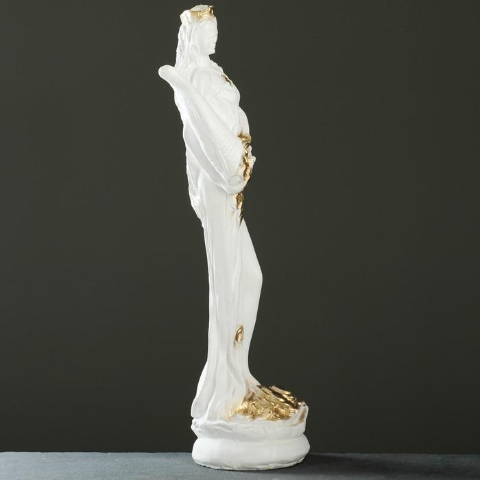 """Фигура """"Фортуна средняя"""" белое золото 50 ×15×15см"""