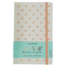 Блокнот 130х210 мм, 120 листов Moleskine Limited Edition Beauty&Beast Large, мягкая обложка, тонированный блок в линейку, розовый