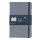 Блокнот 130х210 мм, 96 листов Moleskine Limited Edition Blend Large, текстильная обложка, тонированный блок в линейку