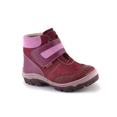 Ботинки малодетско-дошкольные арт. 16-538-1 (бордовый) (р. 24)