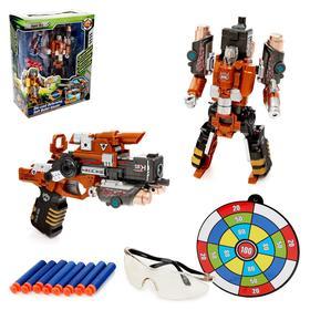 Робот «Суперпушка», трансформируется в пистолет, стреляет мягкими пулями