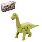"""Динозавр """"Диплодок"""", работает от батареек, звуковые эффекты"""