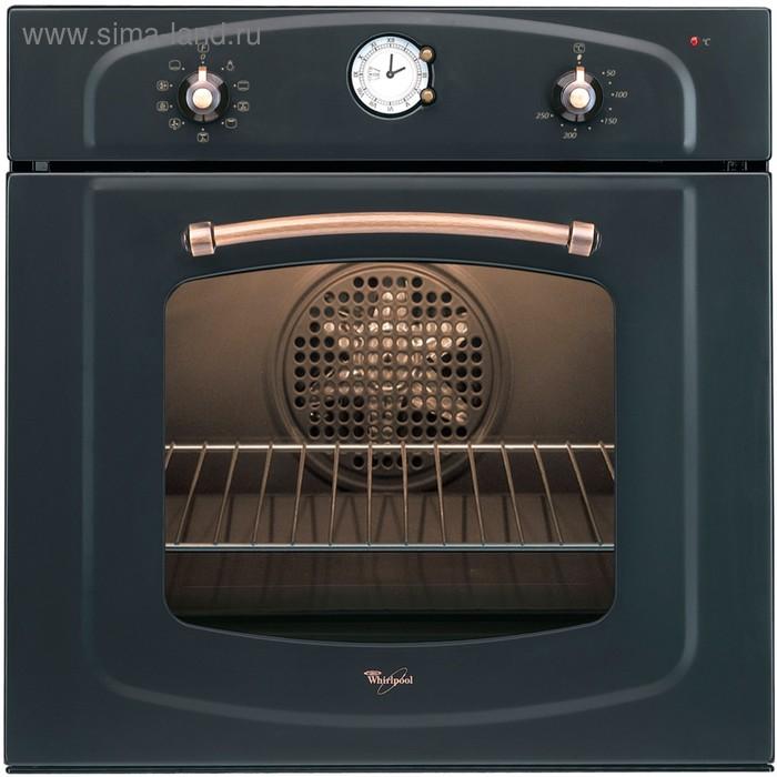 Духовой шкаф Whirlpool AKP 295 NA, 65 л, электрический, черный