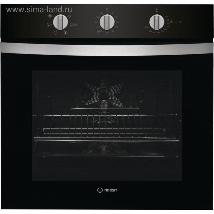 Духовой шкаф Indesit IFW 4534 H BL, 71 л, электрический, черный