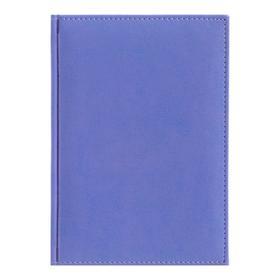 Ежедневник датированный 2020 г, А5, 168 листов «Небраска», искусственная кожа, перфорация углов, ляссе, сиреневый Ош