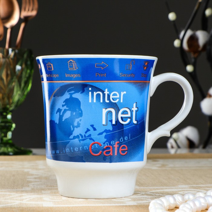 """Кружка """"Водолей интернет"""", деколь, 575 мл"""