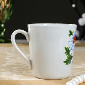 """Чашка """"Ромашка"""", деколь, 0,21 л"""