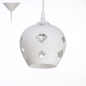 Светильник Ладера 338/0 1 лампа E27 60 Вт б.с. Ф200