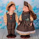 "Кукла коллекционная парочка поцелуй набор 2 шт ""Таня и Влад"" 30 см"
