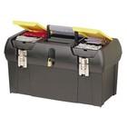 """Ящик для инструментов Stanley 1-92-066, 19"""", 2 встроенных органайзера, пластик, метал.замок   288286"""