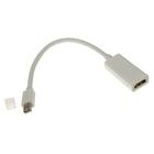 Переходник видео 5bites AP-015, mini DisplayPort(20pin)(m)-HDMI(f), 0.1 м, белый