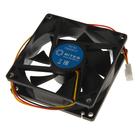 Вентилятор 5bites F8025S-3 80x80x25, 3P, черный