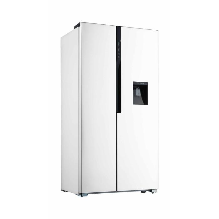 Холодильник Willmark SBS-530WD, 520 л, класс A+, NoFrost, Side-by-Side, белый