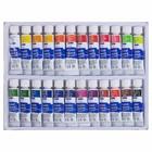 Краски акварельные, 24 цвета, в металлической тубе, 15 мл, в картонной коробке