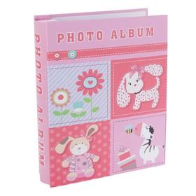 """Фотоальбом на 100 фото 10х15 см """"Весёлые картинки"""" в коробке 20,7х26,3х6 см МИКС"""