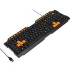 Клавиатура RITMIX RKB-151, проводная, USB, черная