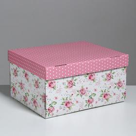 Складная коробка «Воспоминания о чудесном», 31,2 х 25,6 х 16,1 см