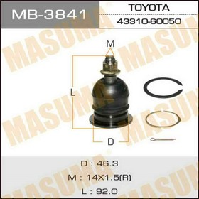 Ball joint Masuma MB3841