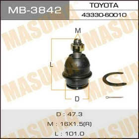 Шаровая опора Masuma MB3842, Toyota 48068-60010