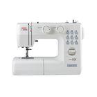 Швейная машина Janome Juno 2015, 13 операций, полуавтоматическая обработка петли, белая