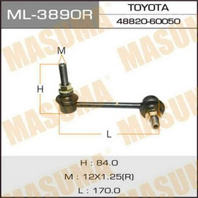 Stabilizer bar Masuma ML3890R