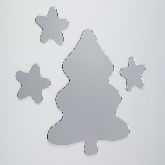 Зеркало «Елка», 17 × 21см