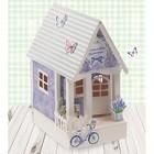 Набор для создания домика «Уютное счастье», 29,5 х 30 см