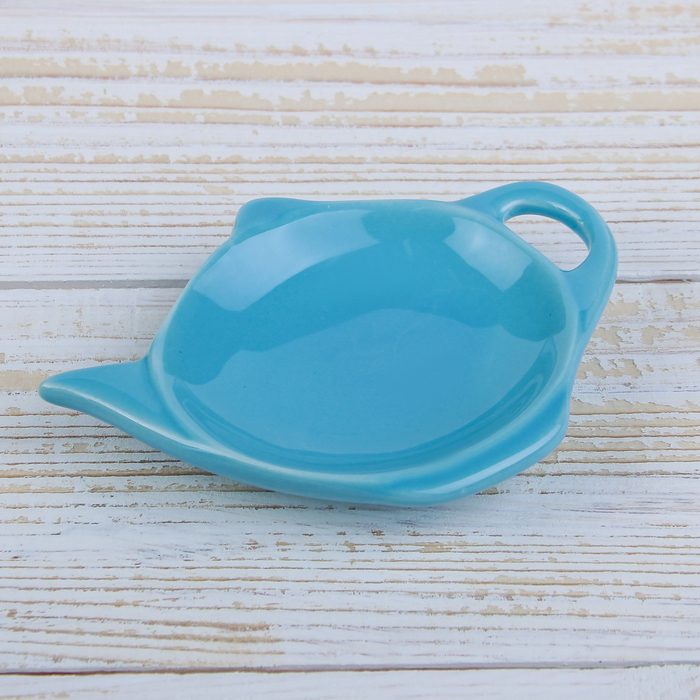 """Подставка под чайный пакетик """"Весна"""", цвет голубой"""