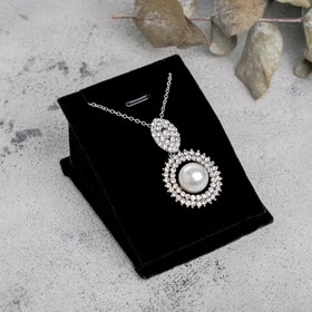 Holder pendant, pendant, ring, 6,3*7,5*4 cm, color black
