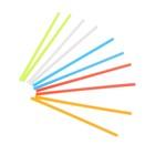 Счётные палочки: набор 100 шт, 5 цветов, 7 см