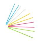 Счётные палочки: набор 100 шт, 5 цветов, 9 см