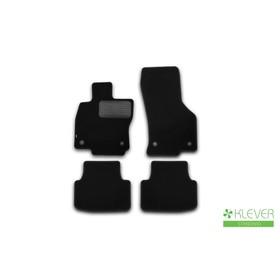 Коврики в салон Klever Standard SKODA  Octavia 2013-2016, сед., 4 шт.(текстиль)