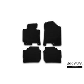 Коврики в салон Klever Econom KIA Cerato АКПП 2013-2016,, сед., 4 шт. (текстиль)