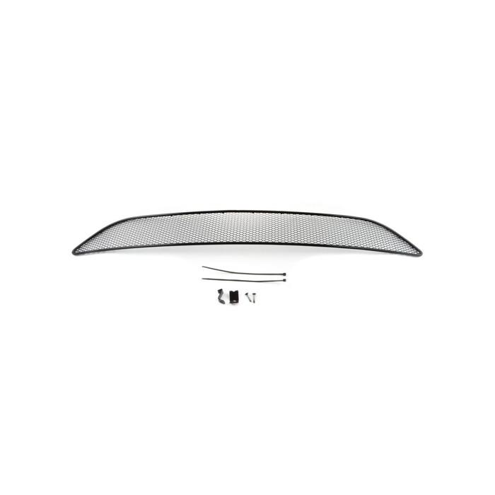 Сетка на бампер внешняя для FORD Focus III 2015-2016, черн., 15 мм