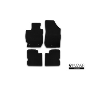 Коврики в салон Klever Econom NISSAN Almera АКПП 2012-2016, сед., 4 шт.(текстиль)