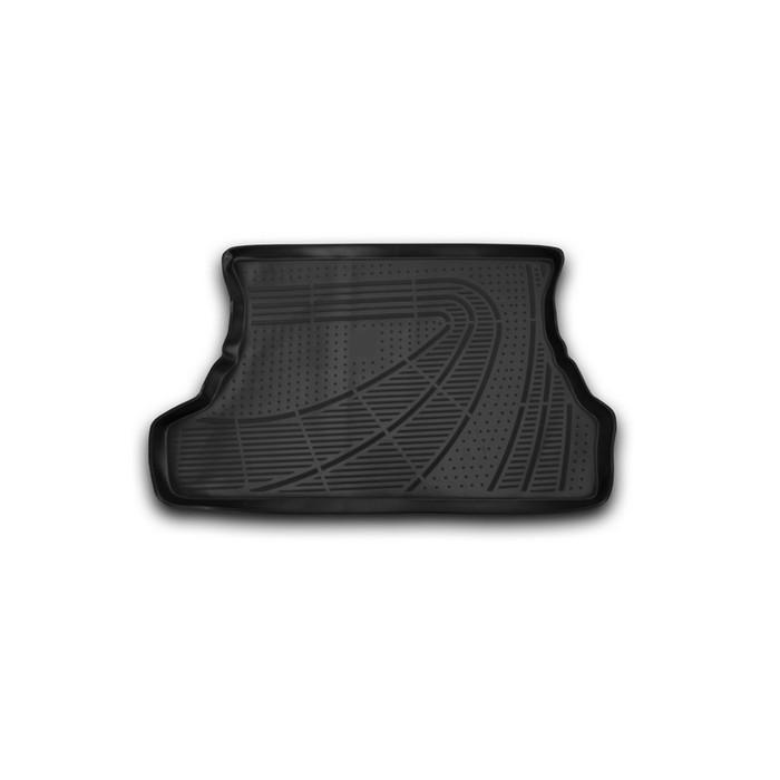 Коврик в багажник LADA Samara (2113, 2114), 2004-2016, Хб., 1 шт. (полиуретан)
