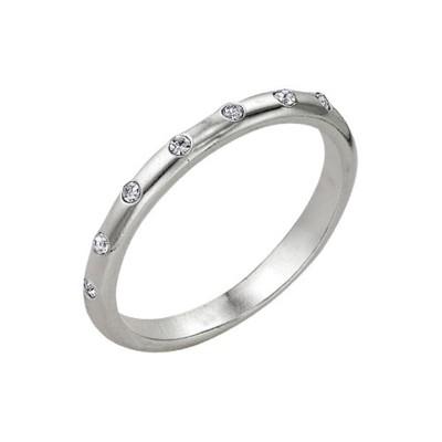 """Кольцо """"Венчание"""", посеребрение, 18,5 размер"""
